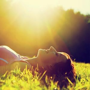 lying-in-sun